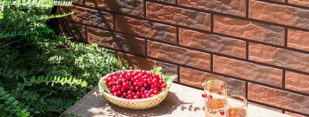 Купить термопанели Cerrad Красная Rot с оттенком рельефная