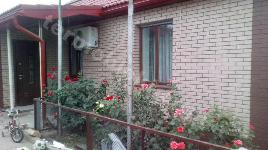 Фасадные термопанели и утепление фасада дома в Чернигове