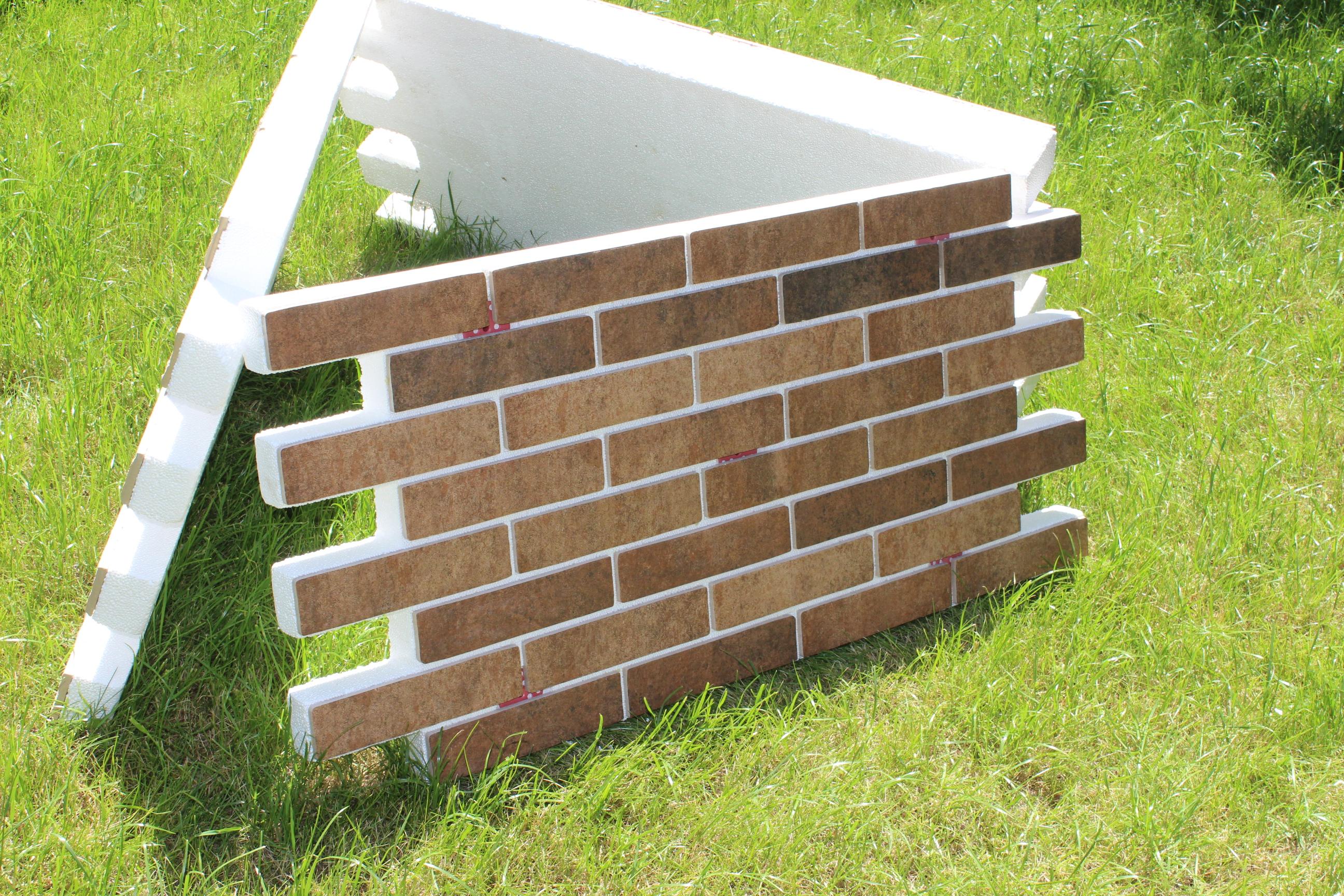 Фасадные клинкерные термопанели для утепления стен и фасадов домов