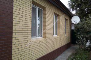 Фасадные термопанели «Термодом» в Киеве и области: дома с фасадным утеплителем клинкер 2