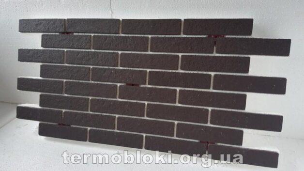Термопанель BrickStyle Strand коричневая
