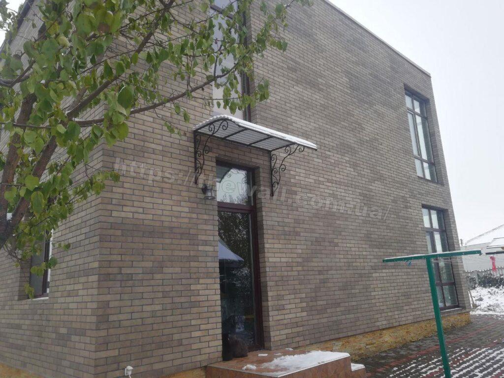 Белая Церковь. Украина термопанель термодом брикстайл табак 8
